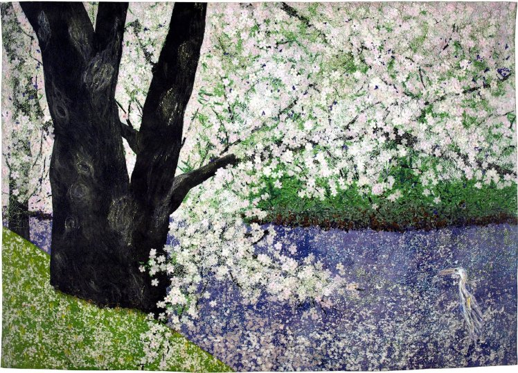 Cherry Blossoms by Noriko Endo