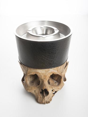 Critical + Skull Ashtray