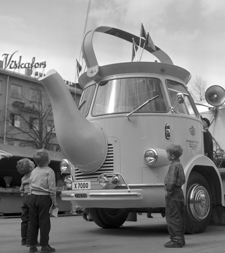 Gevalia coffee brand bus 1956