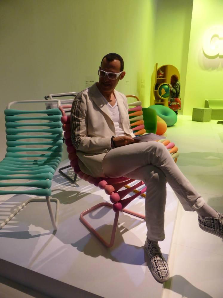 Karim Rashid Boing chair 3