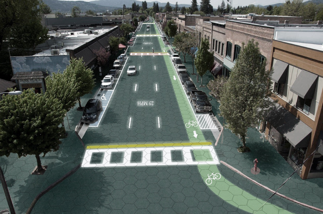 solar roadways The solar roadway is a two-lane street of the future it can connect buildings that need to be connected to the town hall+1000 per tile.