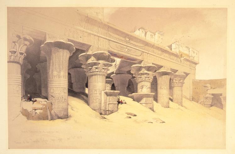David-Roberts-temple-of-Edf