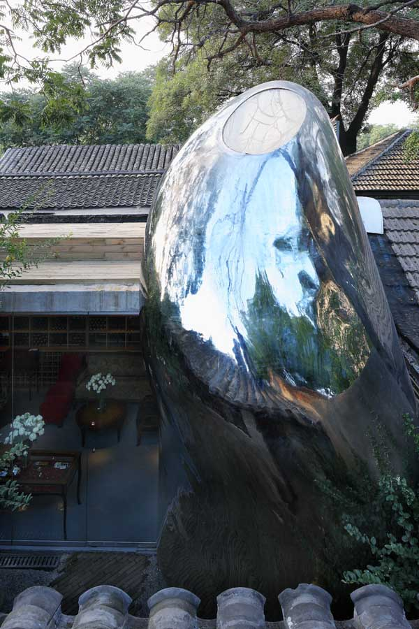 MAD Architects Hutong Bubble 32 top view