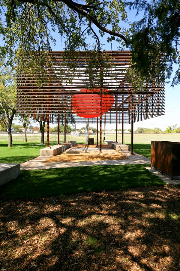 Mell Lawrence Texas park Pavilion 1