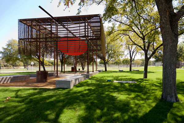 Mell Lawrence Texas park Pavilion 2
