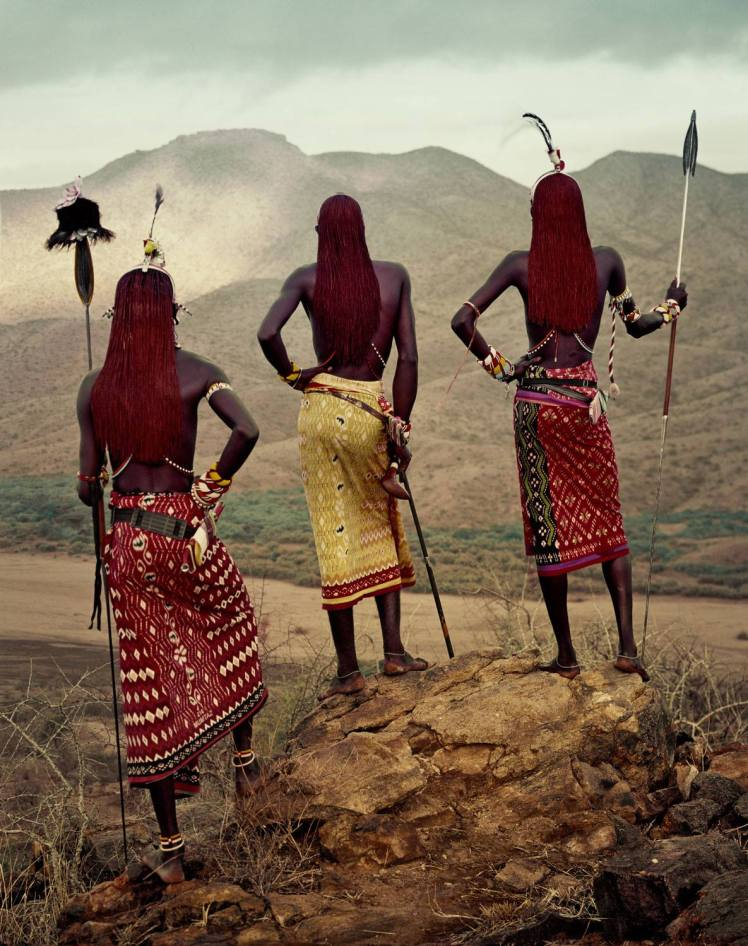 Before they pass away - Jimmy Nelson Samburu warriors