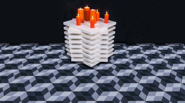 hydraulic tiles by Mosaic Del Sur