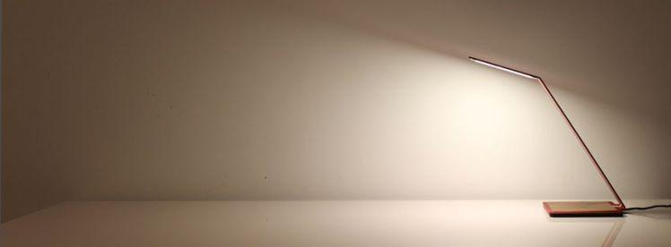 OLED light fixture from Aerelight