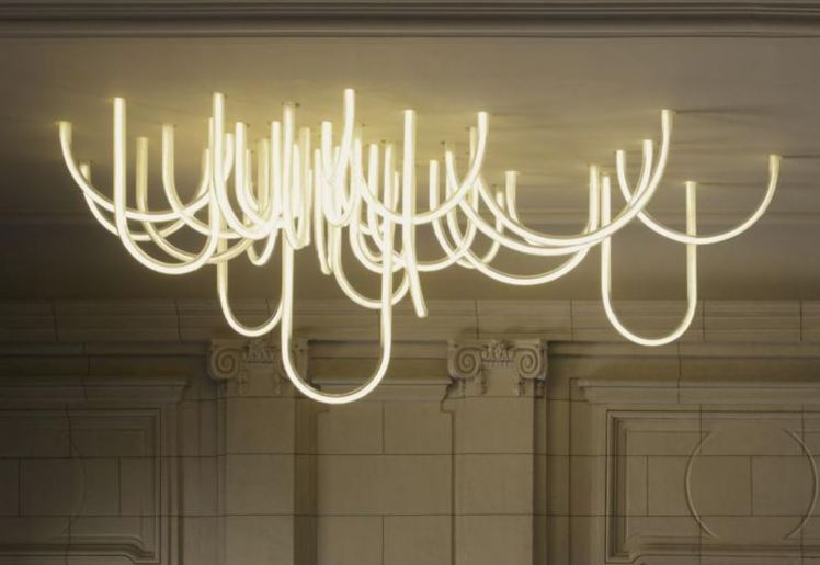 Mathieu Lehanneur - Cordes LED chandelier 1