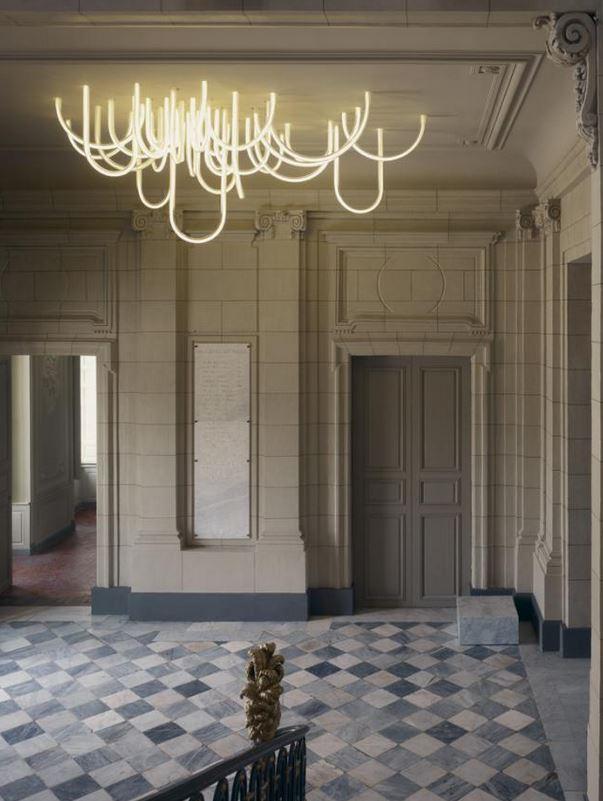 Mathieu Lehanneur - Cordes LED chandelier 2