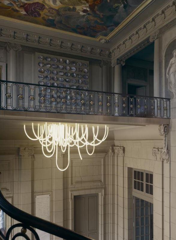 Mathieu Lehanneur - Cordes LED chandelier 3