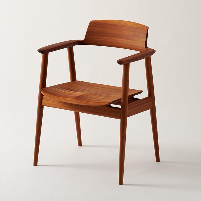 Kisaragi chair kawakami design room wewastetime for Wooden furniture chair design