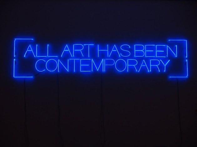 Maurizio Nannucci all art has been contemporary