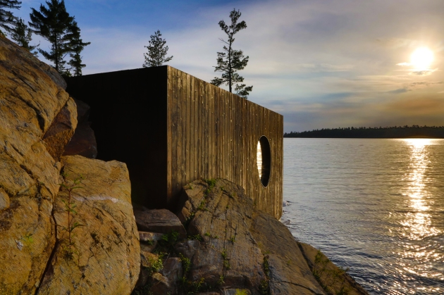 Grotto Sauna - Partisans architects  02
