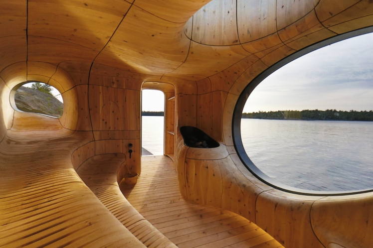 Grotto Sauna - Partisans architects  03