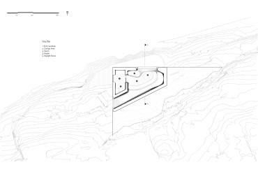 Grotto Sauna - Partisans architects plan