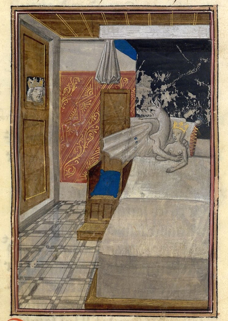 Conception of Alexander the Great, Les faize d'Alexandre, Bruges ca. 1468-1475. British Library