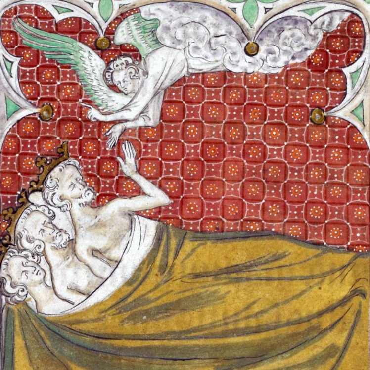 Queen Mary Psalter, London 1310-1320 -British Library