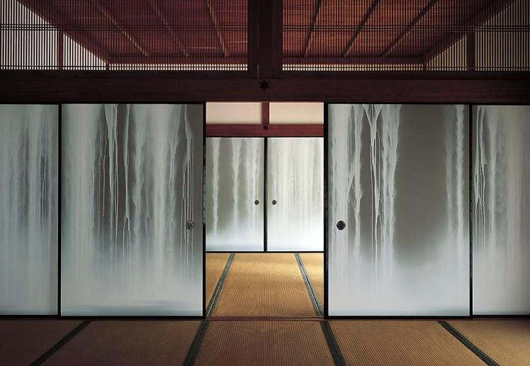 Waterfall_2006_Screen_Painting_for_Shofuso_USA_43