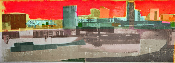 David McConochie - Canal Bank Collage Series 1b