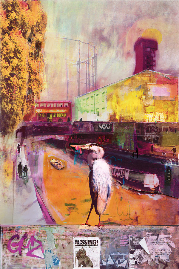 David McConochie - Regents Canal by Bow