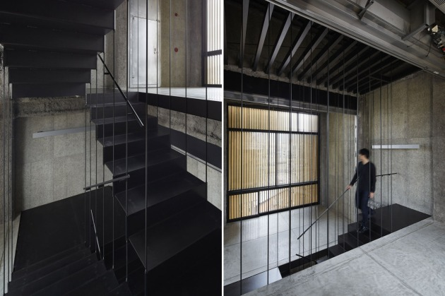 K8 staircaise, Kyoto - Florian Busch Architects 6