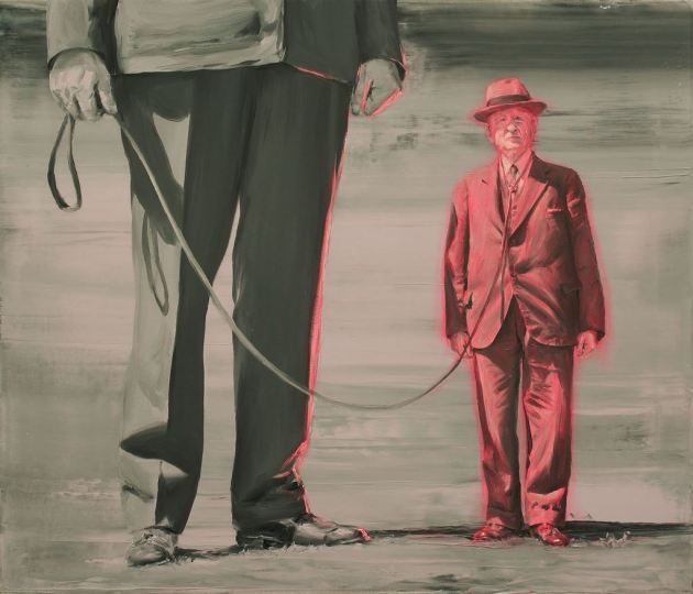 Paco Pomet Amo (Oil on canvas. 60 x 70 cms. 2015)