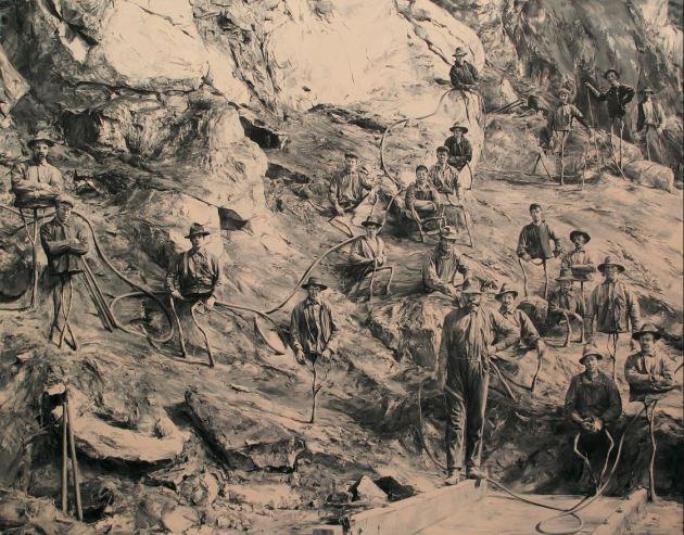 Paco Pomet El huerto (Oil on canvas. 200 x 255 cm. 2015)