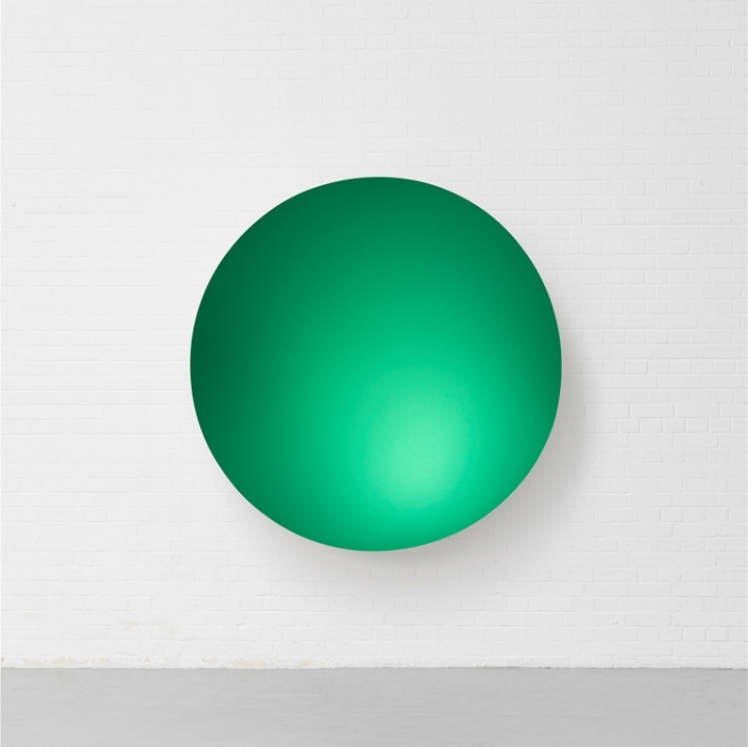 Anish-Kapoor--Monochrome-(Planet-Green)