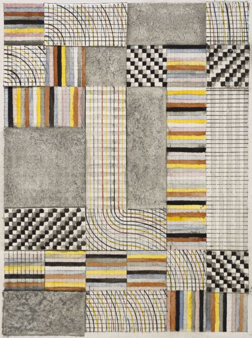 Anni Albers, Design for Rug, 1927, Harvard
